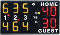 portable tennis score boards